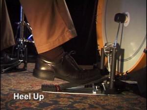 heel up