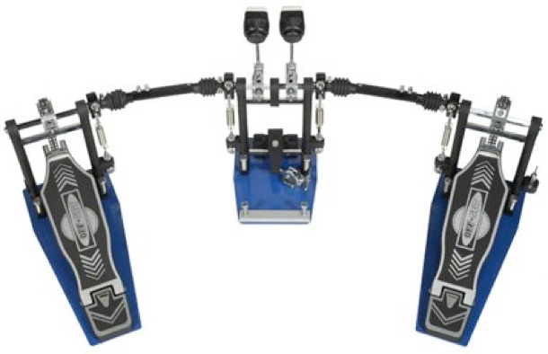 Offset Double Bdrum Pedal
