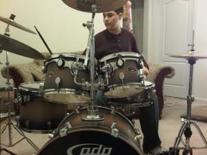Vex drummer front view