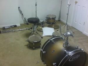 kit before new setup