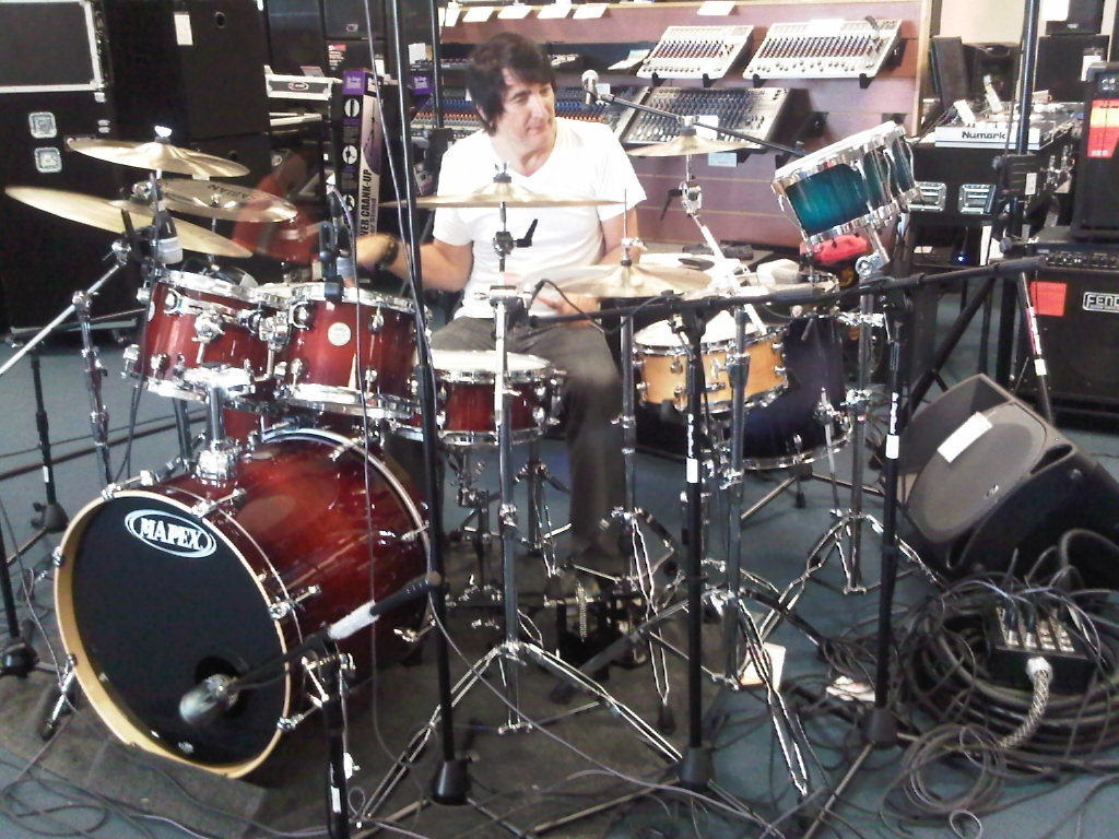 Drum Clinic – Walfredo Reyes, Jr